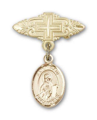 Icecarats Or Bijoux De Créateurs Rempli R. Paul La Broche De Badge Charme Apôtre Croix 1 X 3/4