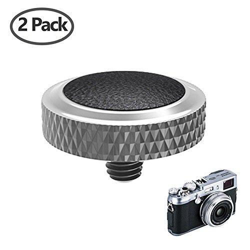 Camera Soft Release Button JJC Deluxe Shutter Button for Fuji Fujifilm X-T20 X-T10 X-T2 X-PRO1 X-PRO2 X100 X100S X100T X100F X30 X20 X10 X-E3 X-E2S Sony RX1R RX10 II III IV Leica M10 M-E M-P M-A 2Pack