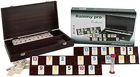 Aquamarine Games - Rummy Profesional (Compudid CP103014): Amazon.es: Juguetes y juegos