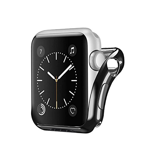 Owill Lightweight Compact Protected Case Cover For Apple Watch Series 2/3 38MM, Keeping the Elegant Look and Form of Your Watch ()