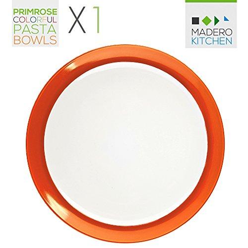 pasta bowls orange - 1