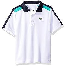 Lacoste Boy Sport Short Sleeve Color Block Tennis Polo