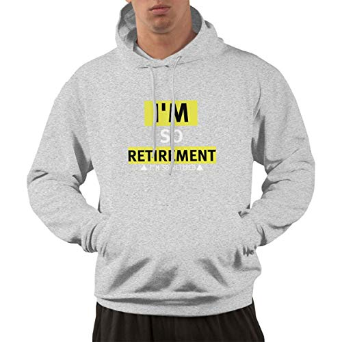 2016/6/7 I'm Retired Do It Yourself Retirement Non Stop Case,Retirement Planning Case Gray XXL for Men Hoodie (Monthly Retirement Planning Worksheet Chapter 8 Answers)