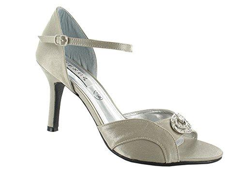 LEXUS - Zapatos de vestir para mujer pardo