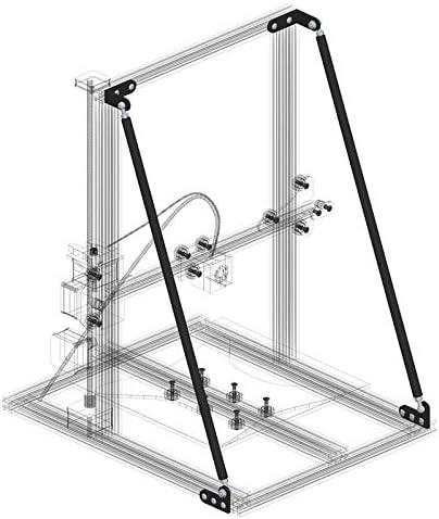 Shuzhen,Accesorios de Eje Z para impresoras 3D de Perfil de ...