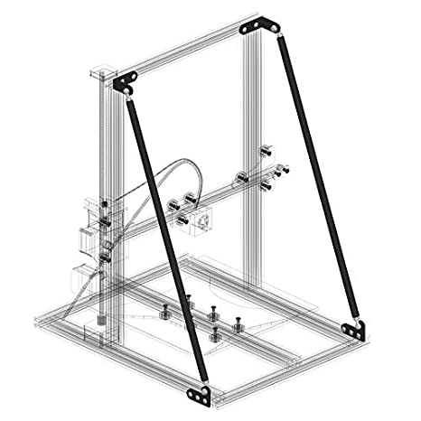 Zhuhaimei,Accesorios de Eje Z para impresoras 3D de Perfil de ...