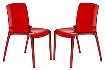 Amazoncom LeisureMod Murray Modern Dining Chair Set of 2