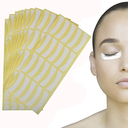 Putars 400PCS Fashion Sexy Isolation Paper Stickers Eyelash Extension Pads For Eyelash Adhesive - Tower Store Place Hours Water
