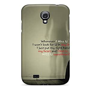 diy phone caseAnjYKCn3779DmxTH Mialisabblake I Miss You Durable Galaxy S4 Tpu Flexible Soft Casediy phone case
