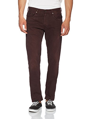 Jeans Straight Grover Rosso Replay Uomo bordeaux 10 qHBOTCxw