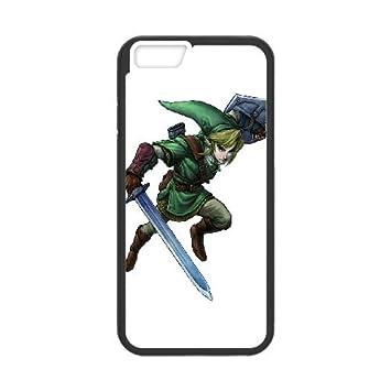 The Legend Of Zelda 8 33 funda iPhone 6 4.7 Inch Negro de la ...