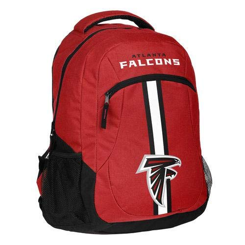 FOCO NFL Atlanta Falcons Action Backpack, Team Color, One -