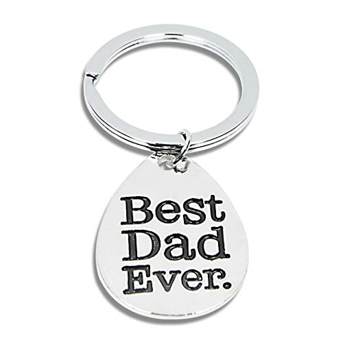 Father's Day Gift Keychain for Dad Best Dad Ever (Best Dad Ever)