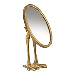 Decorative 13In. Duck Leg Mirror 03098