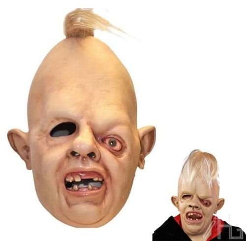 Halloween Eye Masks Sloth Latex Mask Deluxe Goonies Fancy Dress Costume 1980's by AHG -