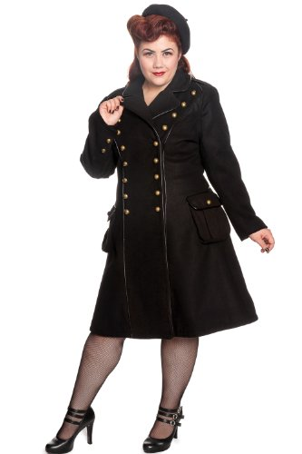 Hell-Bunny-Plus-Gothic-Black-Steampunk-Military-Corset-Imma-Coat