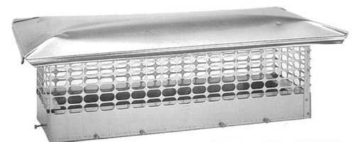 the-forever-cap-ccss1328-13-x-28-inch-stainless-steel-double-flue-chimney-cap-by-the-forever-cap