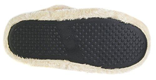 Fessura Raffreddamento Di Con Per Donna Donna Blu Calda A Chiusura Da Navy Pantofole qOxn1z1