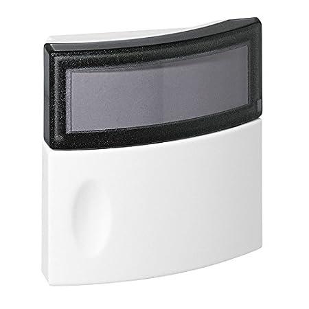 Legrand LEG94245 Bouton-poussoir dappel pour int/érieur 230 V avec porte-/étiquette//voyant