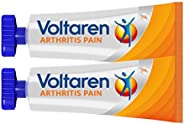 Voltaren Arthritis Pain Gel for Topical Arthritis Pain Relief, No Prescription Needed - 3.5 oz/100 g Tubes (Pa