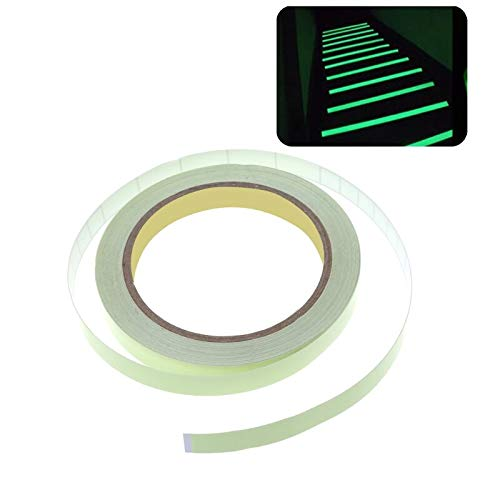 Crystal Pendant - 10mmx10m Luminous Tape Self Adhesive Glow In The Dark Safety Stage Sticker Home Decor - Suzuki Aluminum Brake Polyethylene Safety Piggy Rudder Foil Wheel Pendant Satin Bank ()