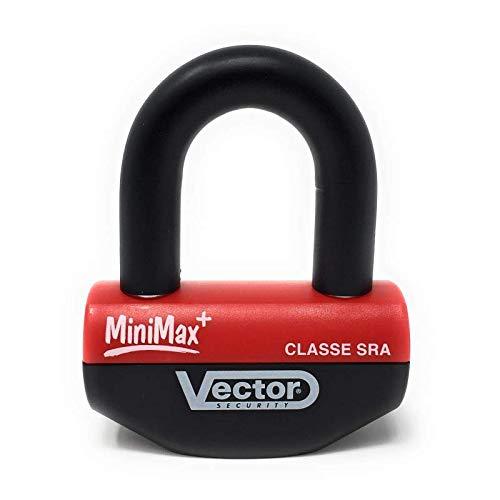0d33c94167dd9 Amazon.fr   Vector Antivol Moto bloque disque MINIMAX+ Ø16mm 47x40mm -  Classe SRA - Type U - Avec cordon de rappel