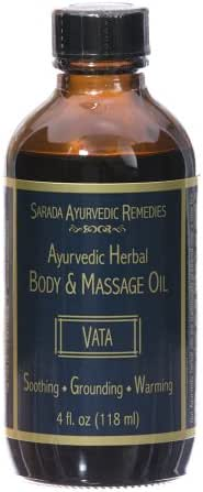 4 oz Vata Body & Massage Oil