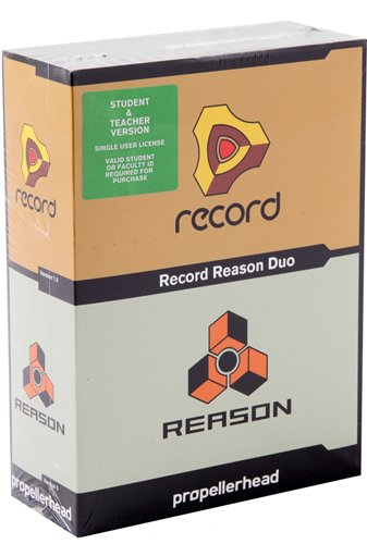 Propellerhead Record (Propellerhead Record Reason Duo Student/Teacher Edition)