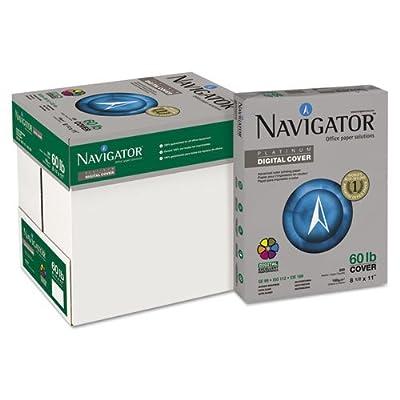 Navigator Platinum Paper, 99 Brightness, 60lb, 8-1/2 x 11, White, 2,500/Carton