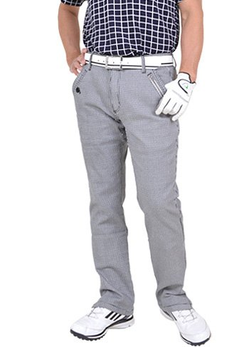【コモンゴルフ】 COMON GOLF 脚長 カツラギ ストレッチ 素材 美脚 総柄 ゴルフ パンツ CG-NF1702