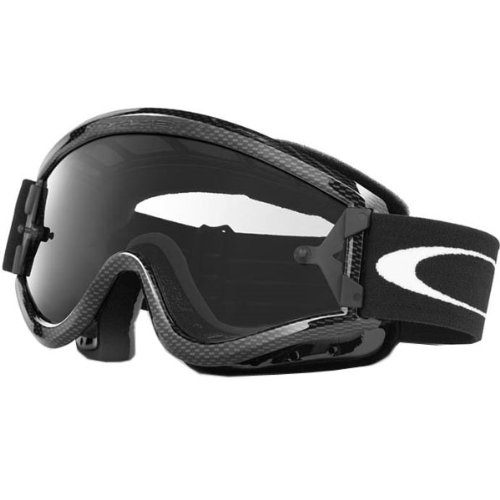 Oakley MX L Frame Adult Dirt Off-Road/Dirt Bike Motorcycle Goggles Eyewear - Color: Carbon Fiber/Clear, Size: One Size Fits All