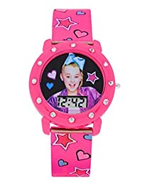 JoJo Siwa Mood Dial Kids Watch (Pink Star Band)