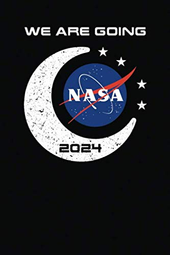 NASA We Are Going 2024: Officially Licensed Artemis Moon To Mars Meatball Logo Notebook Journal Diary Logbook (Meat Science Journal)