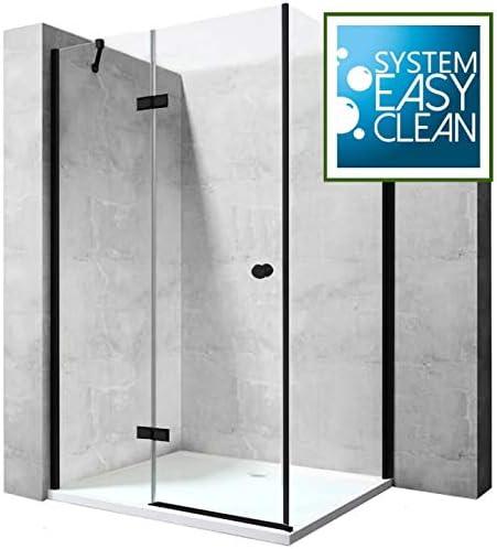 Cabina de ducha, mampara de ducha, ducha de esquina, 6 mm, vidrio ...