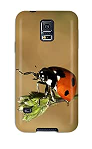 High-end Case Cover Protector For Galaxy S5(ladybug)