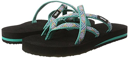 Teva Dames Olowahu Flip-flop (6 B (m) Us, Island Tropic Teal)