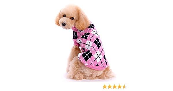 FONLAM Jersey para Perro Cachorro Gato Chaleco Disfraz Ropa Traje ...
