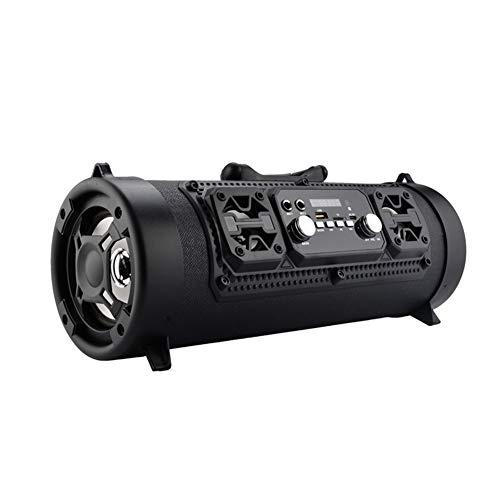 15w Woofer - YSCysc Bluetooth Speaker HiFi Portable FM Radio Move KTV 3D Sound Unit Wireless Surround TV Sound bar Subwoofer 15W Outdoor Speaker+Mic,C