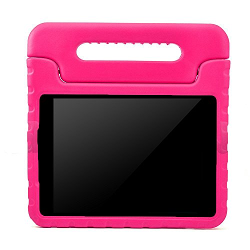 BMOUO Kids Case for Samsung Galaxy Tab A 8.0 (2015) - EVA ShockProof Case Light Weight Kids Case Super Protection Cover Handle Stand Case for Kids Children for Samsung Galaxy TabA 8-inch Tablet - Rose