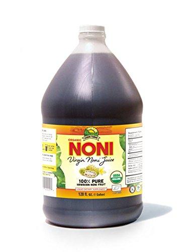 Virgin Noni Juice - 100% Pure Organic Hawaiian Noni Juice - Gallon Jug (128oz) by Virgin Noni Juice