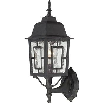 Nuvo Lighting 60 4926 Banyon One Light Wall Lantern Arm Up