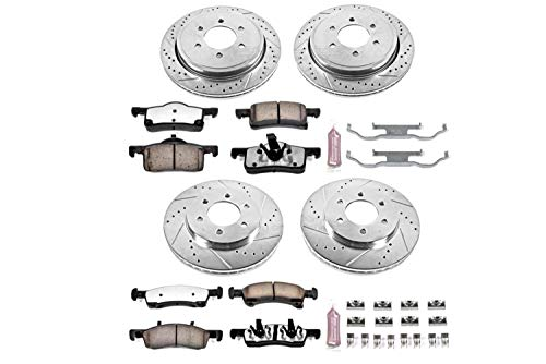 Power Stop K1934-36 Z36 Truck & Tow Front and Rear Brake Kit
