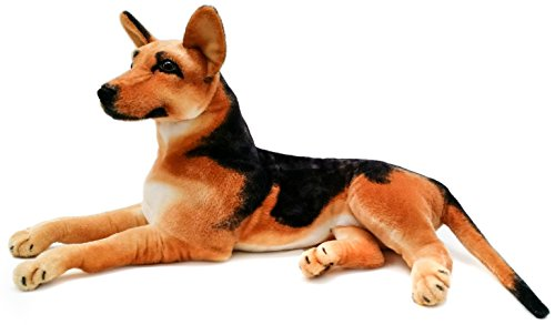 VIAHART Hilde The German Shepherd | 3 Foot (Tail Measurement not Included!) Big Stuffed Animal Plush Dog | Shipping from Texas | by Tiger Tale Toys