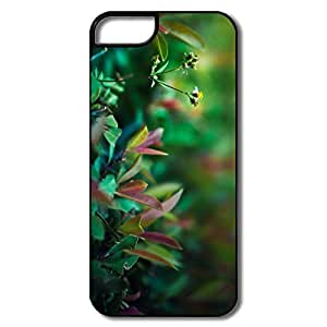 IPhone 5 Cases, Green Life Covers For IPhone 5S - White/black Hard Plastic