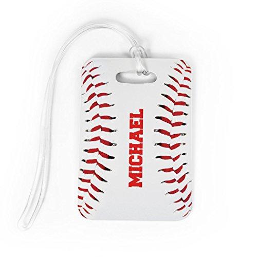 Baseball Luggage Bag Tag