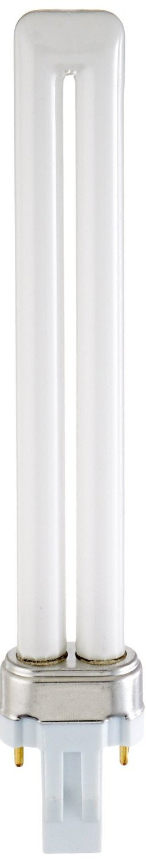 Sylvania 21136 (12-Pack) CF13DS/827/ECO 13-Watt Single Tube Compact Fluorescent Light Bulb, 2700K, 800 Lumens, 82 CRI, T4 Shape, GX23 Bi-Pin Base