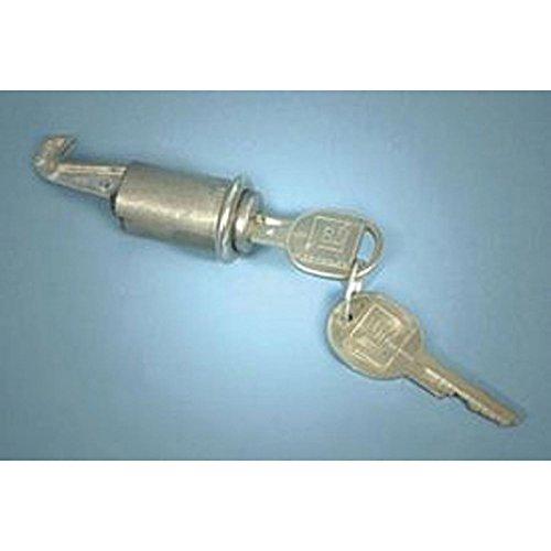 Eckler's Premier Quality Products 75259335 Firebird Glove Box Lock With Late Style (Firebird Glove Box)