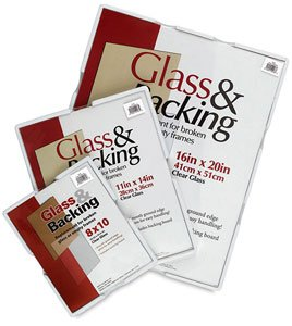 (MCS Picture Frame Glass & Backing for 11x14 Frames)