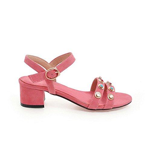 SK Studio - Zapatos con tacón Mujer Rosa