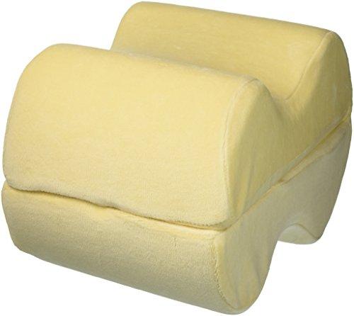 Leg Wedge Pillow - Best Memory Foam 2-in-1 Knee Pillows for